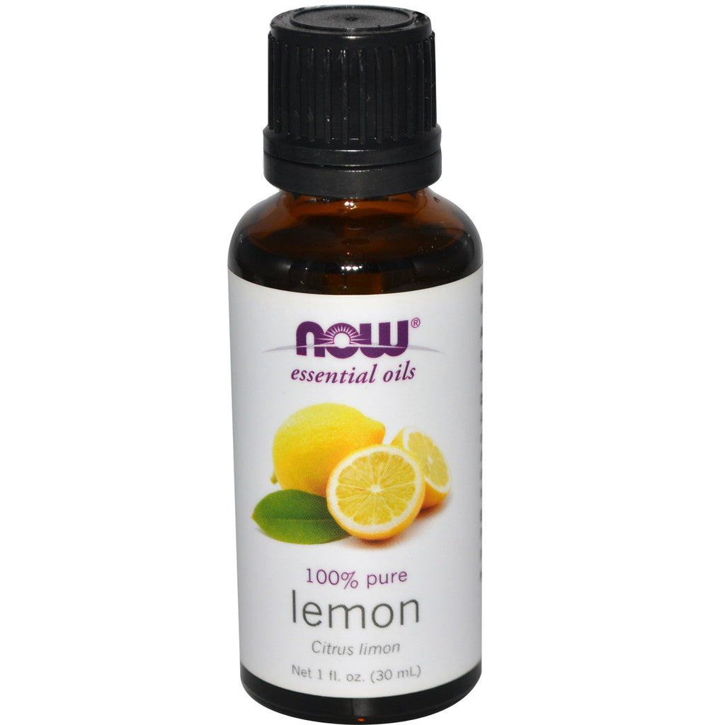 Now Foods, Essential Oils, Lemon, 1 fl oz (30 ml)