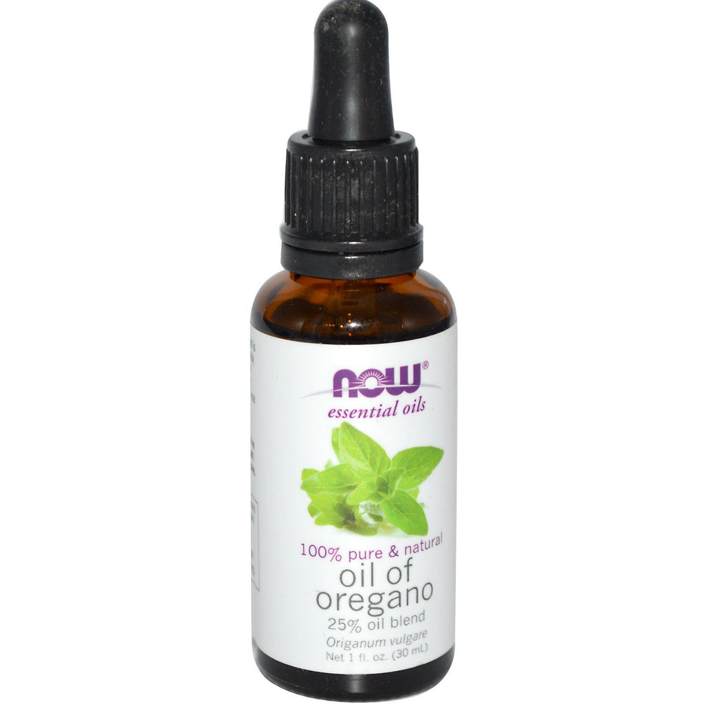 Now Foods, Essential Oils, Oil of Oregano, 1 fl oz (30 ml)