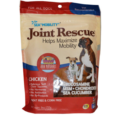 "Ark Naturals, Sea ""Mobility"", Joint Rescue, For All Dogs, Chicken, 9 oz (255 g)"