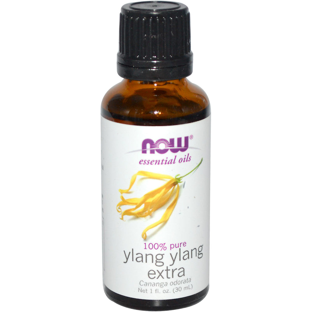 Now Foods, Essential Oils, Ylang Ylang Extra, 1 fl oz (30 ml)