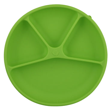 iPlay Inc., Green Sprouts, Learning Plate, Green, 12+ Months, 1 Plate, 10 oz (296 ml)