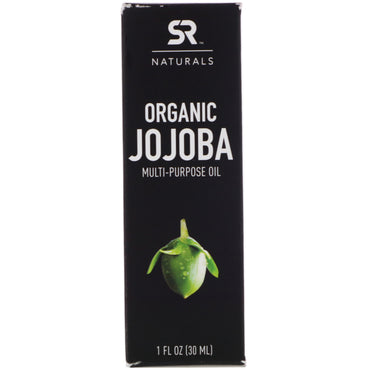 Sports Research, Organic Jojoba Multi-Purpose Oil, 1 fl oz (30 ml)