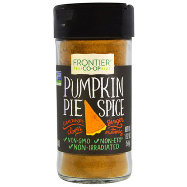 Frontier Natural Products, Pumpkin Pie Spice, 1.92 oz (54 g)