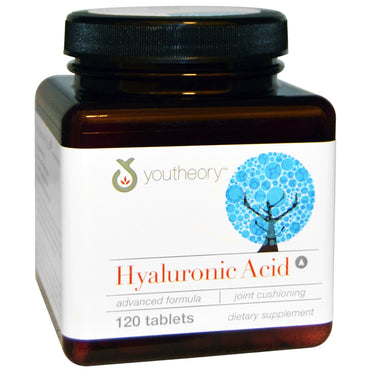 Youtheory Hyaluronic Acid Advanced Formula 120 Tablets