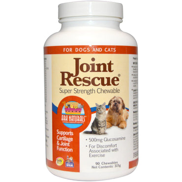Ark Naturals, Joint Rescue, Super Strength Chewable, For Dogs & Cats, 90 Chewables (315 g)