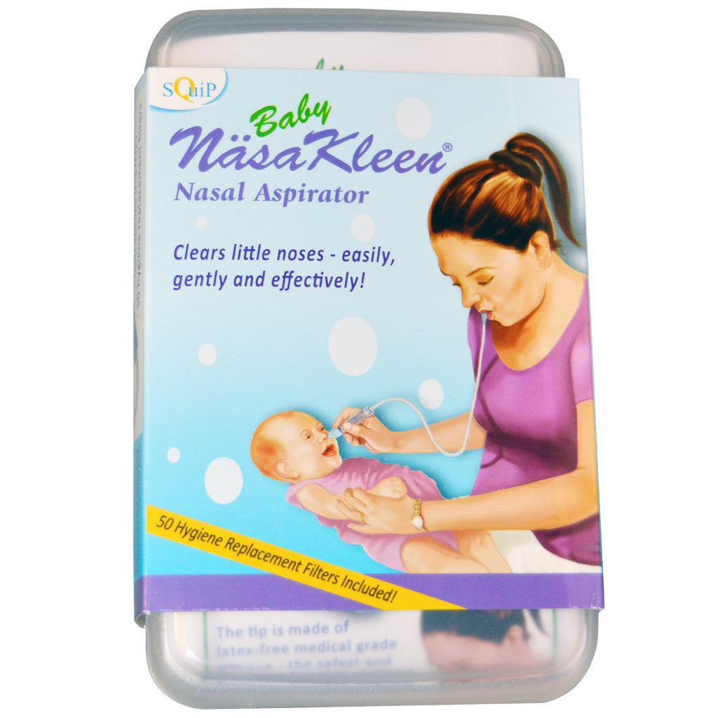 Squip Products Baby NäsaKleen Nasal Aspirator Kit