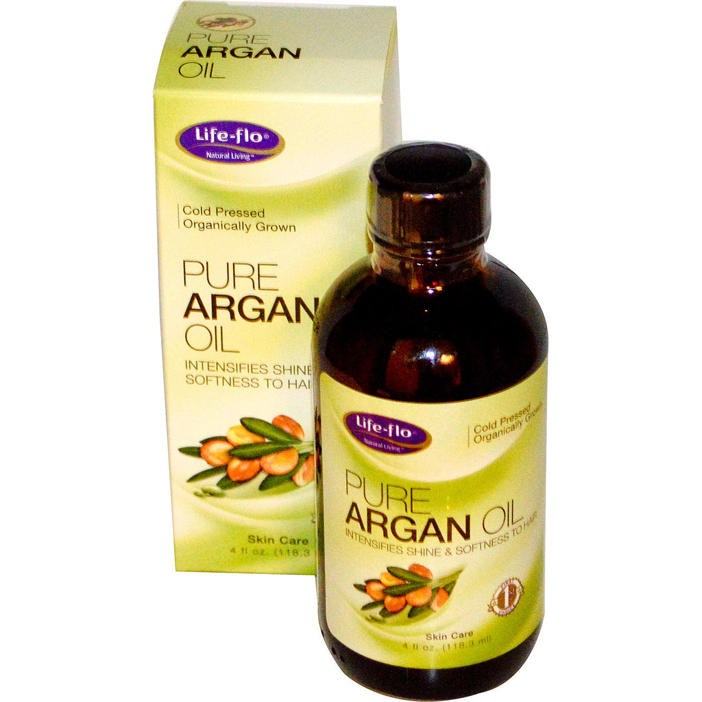 Life Flo Health, Pure Argan Oil, 4 fl oz (118.3 ml)