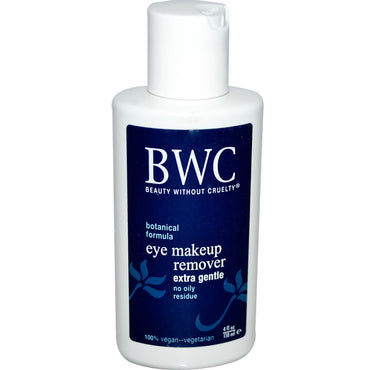 Beauty Without Cruelty, Eye Make-Up Remover, Extra Gentle, 4 fl oz (118 ml)