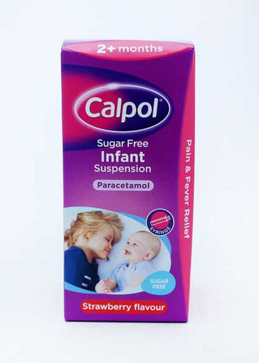 CALPOL INFANT SUGAR FREE 100 ml