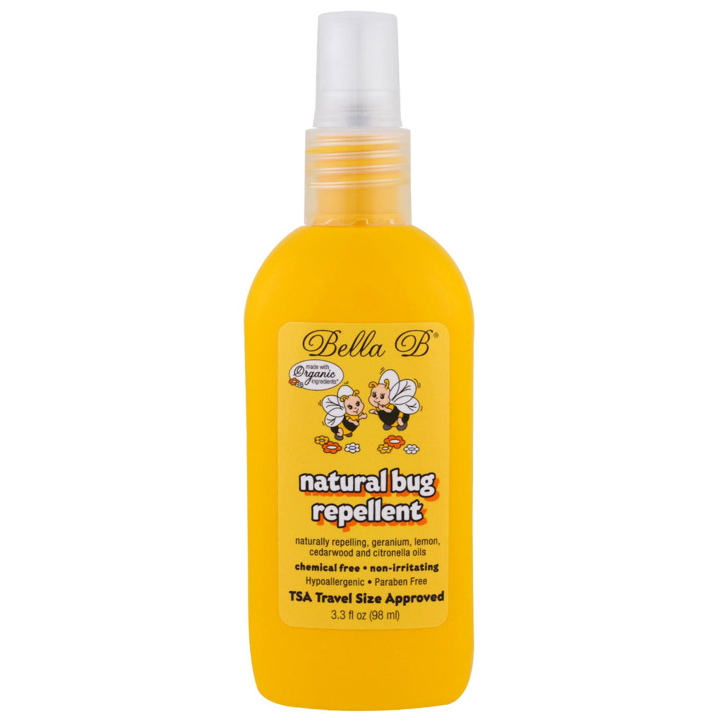 Bella B, Natural Bug Repellent, 3.3 oz (98 ml)