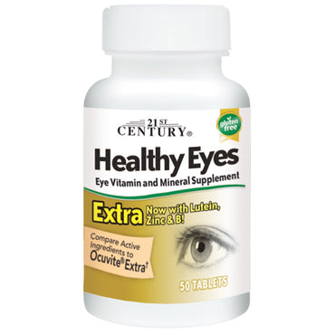 21st Century Healthy Eyes Extra 50 Tablets