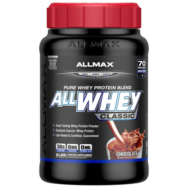 ALLMAX Nutrition, AllWhey Classic, 100% Whey Protein, Chocolate, 2 lbs (907 g)