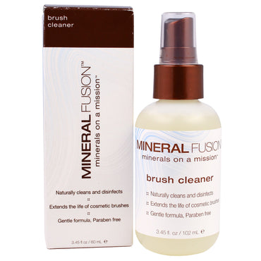 Mineral Fusion, Brush Cleaner, 3.45 fl oz (60 ml)