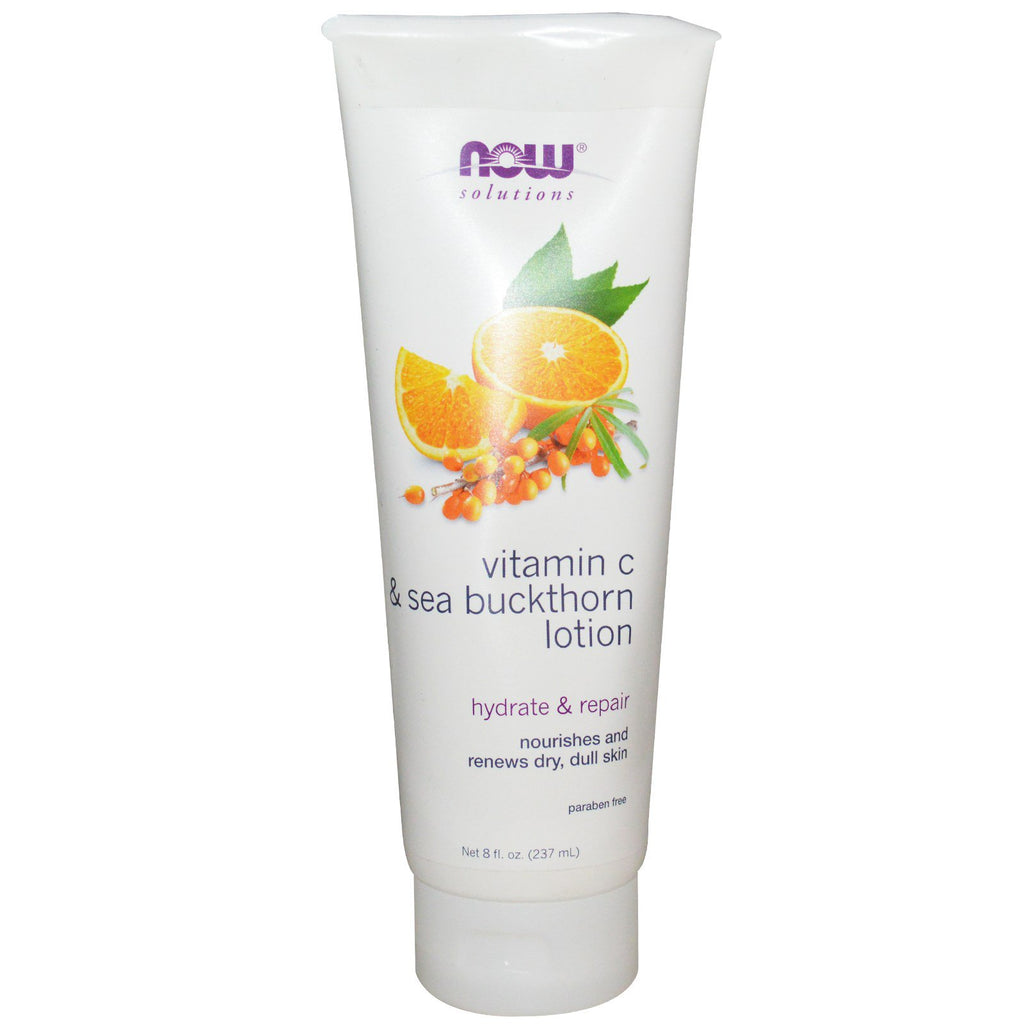 Now Foods, Vitamin C & Sea Buckthorn Lotion, 8 fl oz (237 ml)