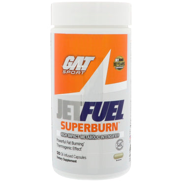 GAT, JetFUEL Superburn, 120 Oil Infused Capsules