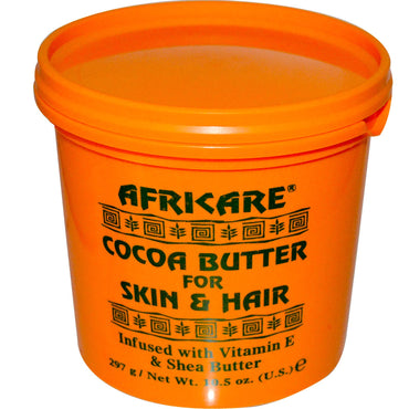 Cococare Africare Cocoa Butter For Skin & Hair 10.5 oz (297 g)