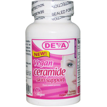 Deva Vegan Ceramide Skin Support 60 Tablets