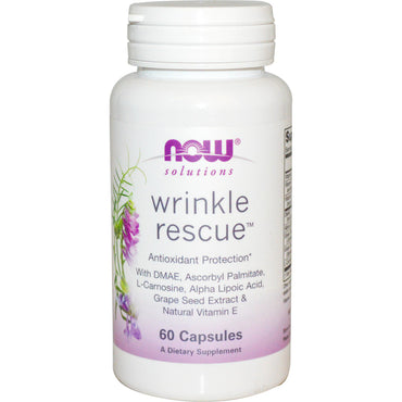 Now Foods Solutions Wrinkle Rescue 60 Capsules
