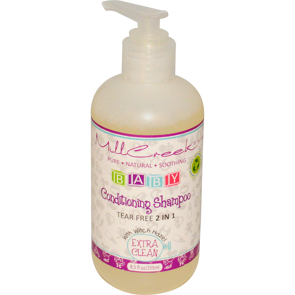 Mill Creek Baby Conditioning Shampoo Extra Clean 8.5 fl oz (255 ml)