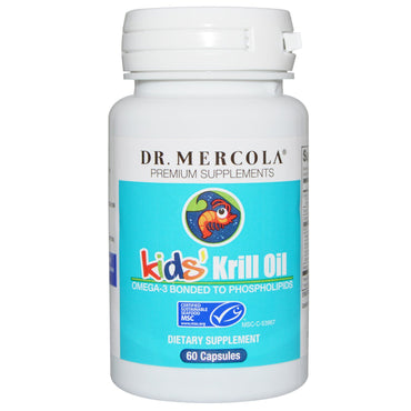 Dr. Mercola, Kids' Krill Oil, 60 Capsules