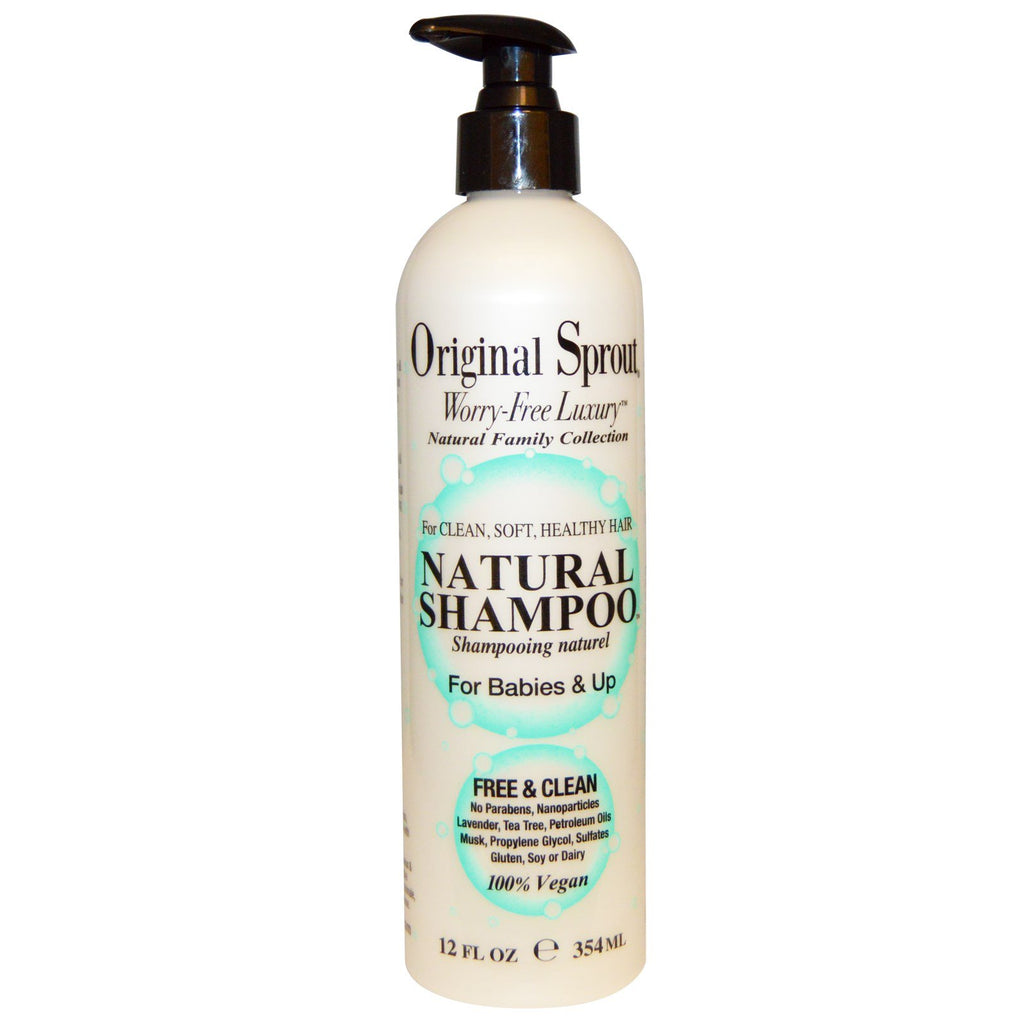 Original Sprout Inc Natural Shampoo For Babies & Up 12 fl oz (354 ml)