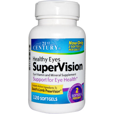 21st Century Healthy Eyes SuperVision 120 Softgels