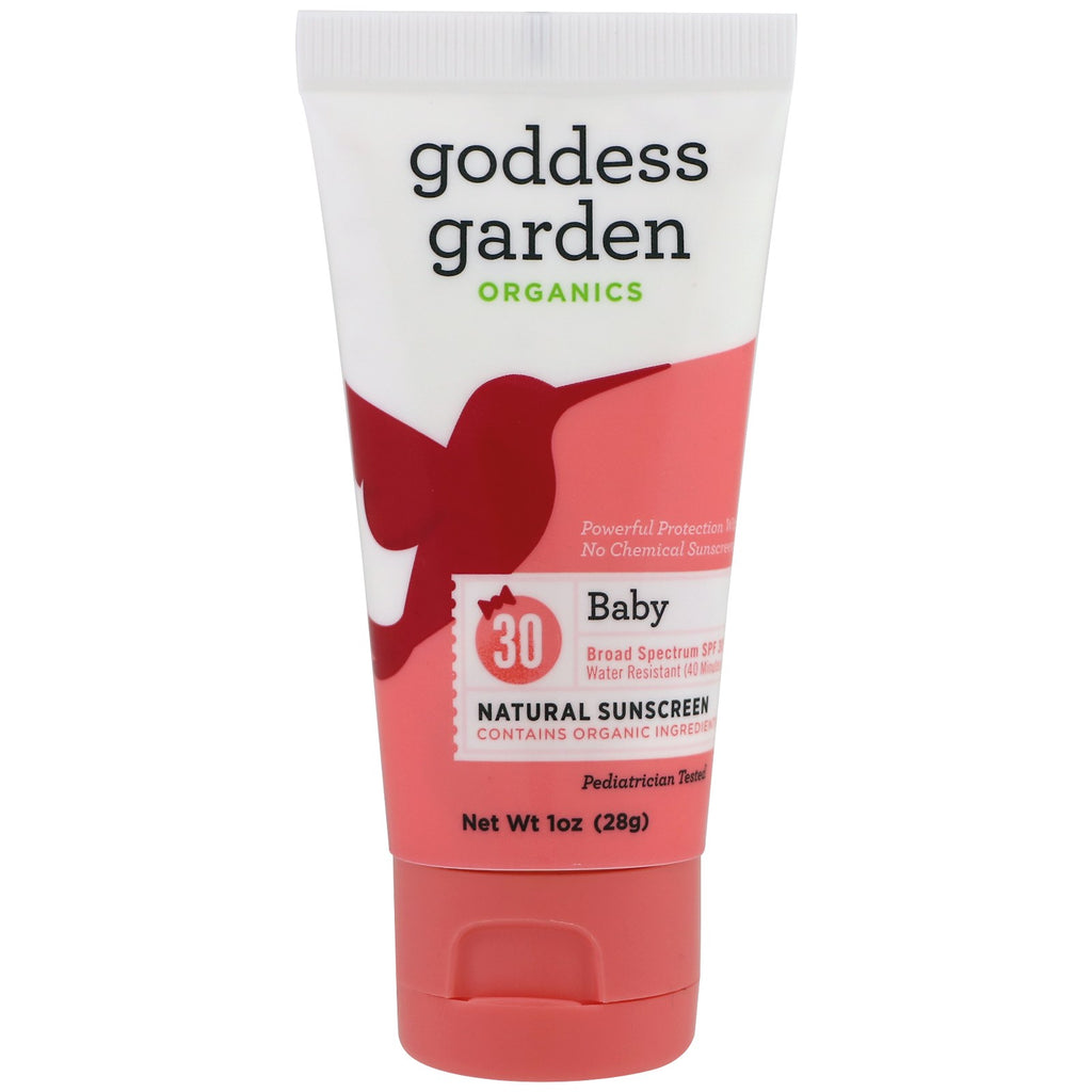 Goddess Garden Organics Natural Sunscreen Baby SPF 30 1 oz (28 g)