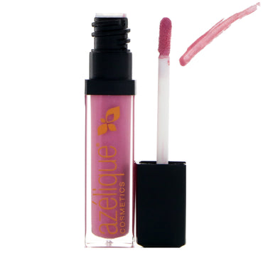 Azelique, Lip Gloss, Soft Violet, Cruelty-Free, Certified Vegan, 0.21 fl oz (6.5 ml)