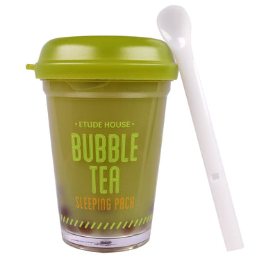 Etude House, Bubble Tea Sleeping Pack, Green Tea, 3.5 oz (100 g)