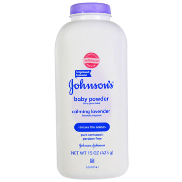Johnson's, Baby Powder, Calming Lavender, 15 oz (425 g)