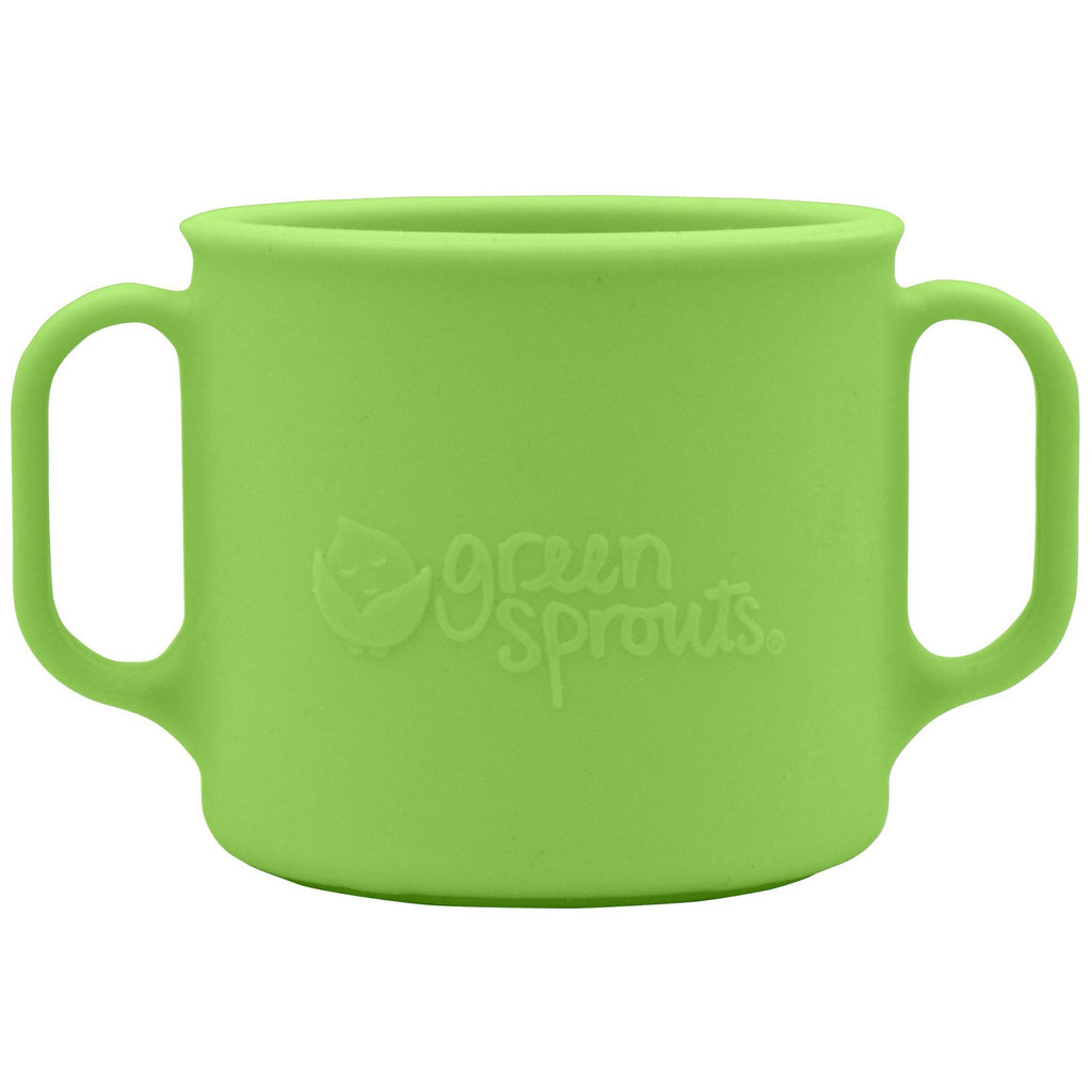 iPlay Inc., Green Sprouts, Learning Cup, 12+ Months, Green, 7 oz (207 ml)