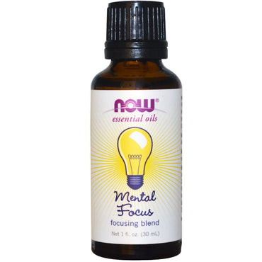 Now Foods Essential Oils Mental Focus 1 fl oz (30 ml)