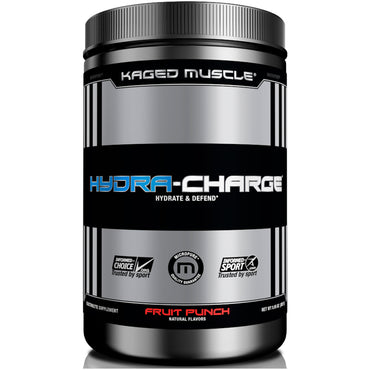 Kaged Muscle, Hydra-Charge, Fruit Punch, 9.95 oz (282 g)