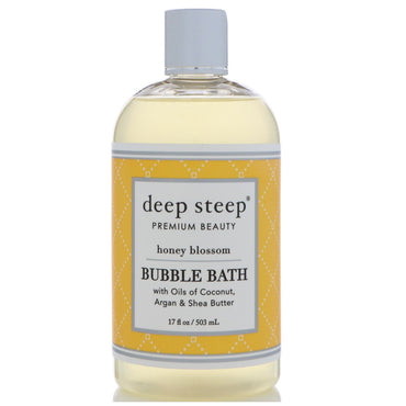 Deep Steep, Bubble Bath, Honey Blossom, 17 fl oz (503 ml)