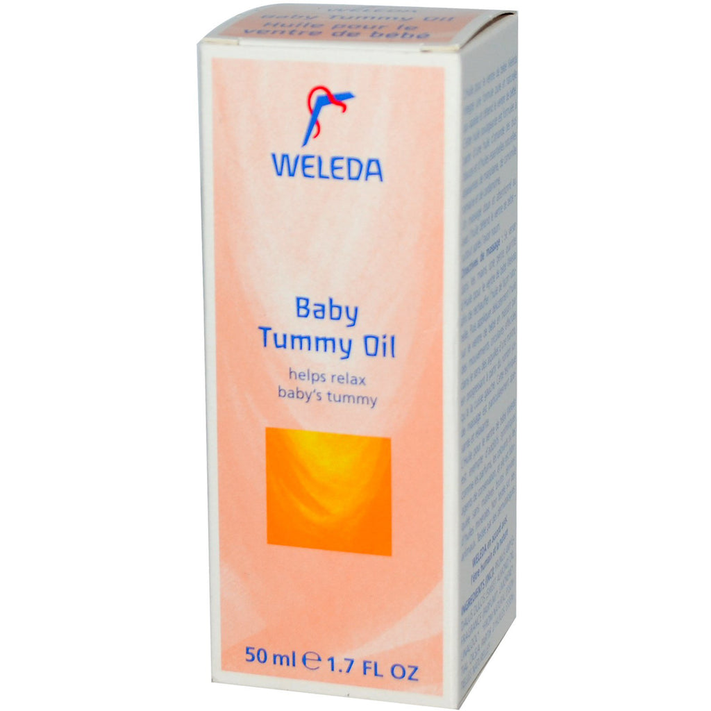 Weleda, Baby Tummy Oil, 1.7 fl oz (50 ml)