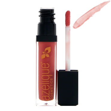 Azelique, Lip Gloss, Berry Kiss, Cruelty-Free, Certified Vegan, 0.21 fl oz (6.5 ml)