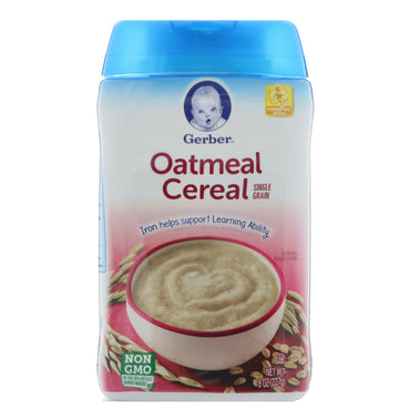 Gerber Oatmeal Cereal Single Grain 8 oz (227 g)