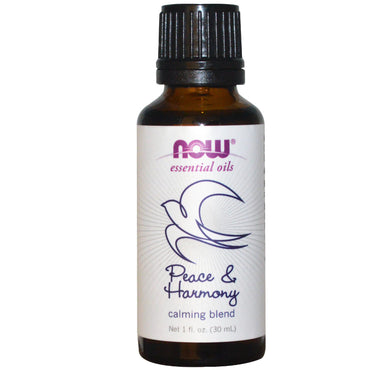 Now Foods Essential Oils Peace & Harmony 1 fl oz (30 ml)