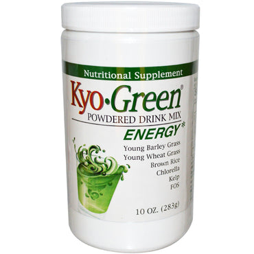Wakunaga - Kyolic, Kyo-Green, Powdered Drink Mix, 10 oz (283 g)