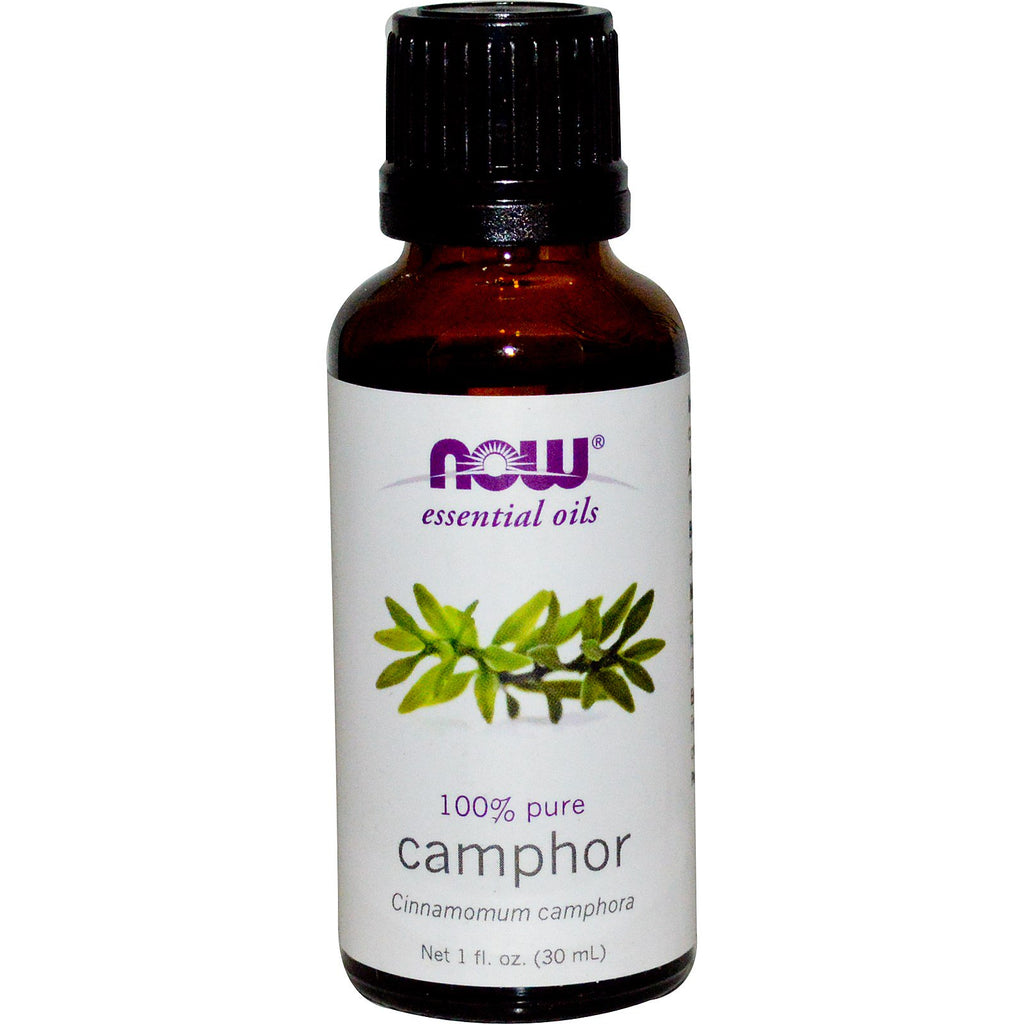 Now Foods, Essential Oils, Camphor, 1 fl oz (30 ml)