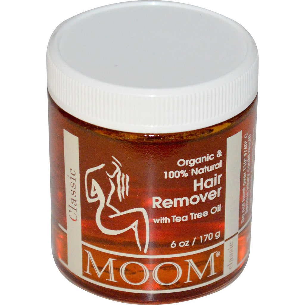 Moom, Hair Remover, with Tea Tree Oil, Classic, 6 oz (170g)