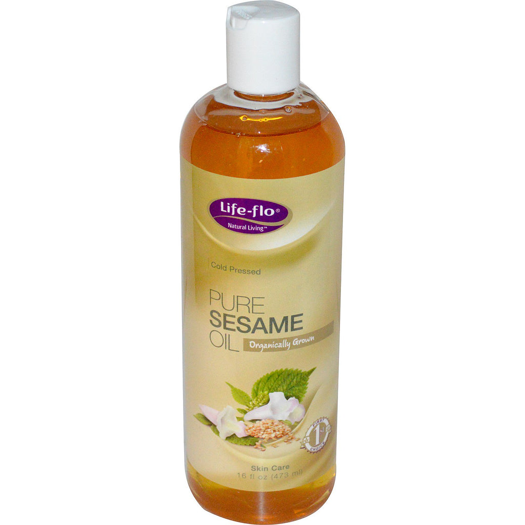 Life Flo Health, Pure Sesame Oil, Skin Care, 16 fl oz (473 ml)