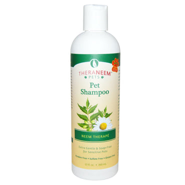 Organix South, TheraNeem Pets, Neem Therapé, Pet Shampoo, 12 fl oz (360 ml)