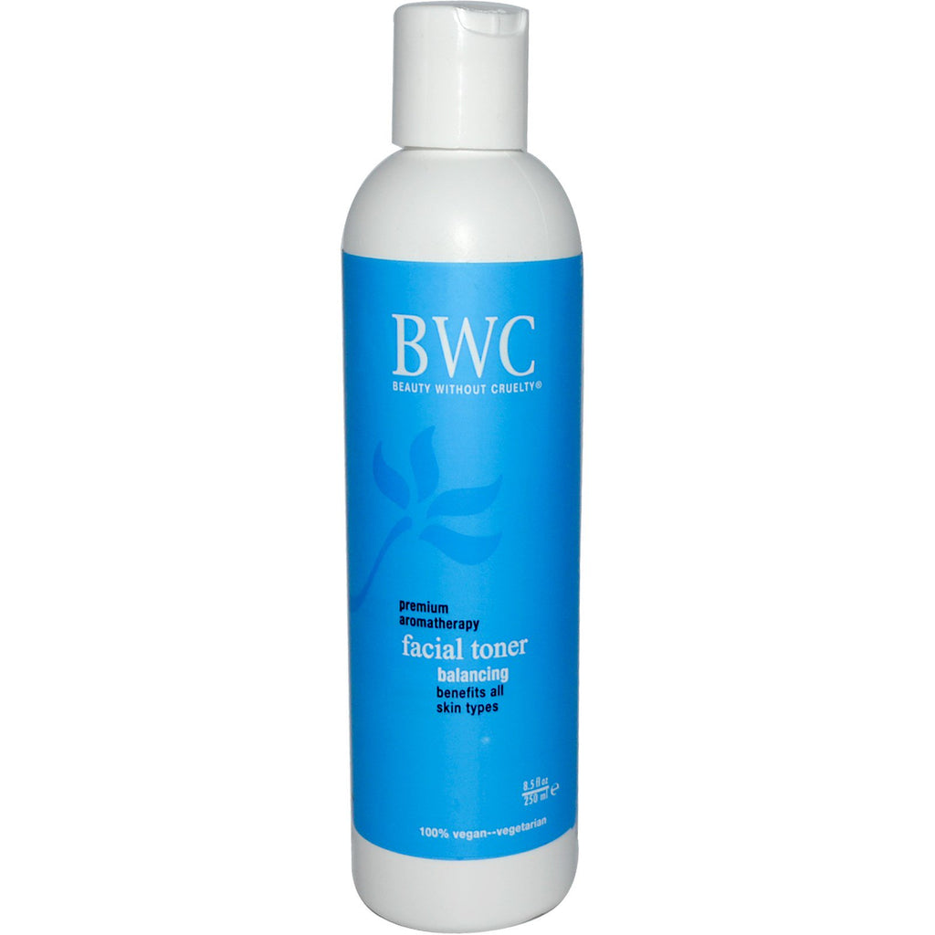 Beauty Without Cruelty, Facial Toner, Balancing, 8.5 fl oz (250 ml)