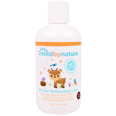 Mild By Nature All-Over Moisturizing Lotion Coconut Cream 8.8 fl oz (260 ml)