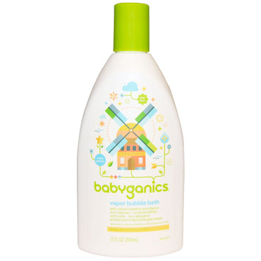 BabyGanics Vapor Bubble Bath 12 fl oz (354 ml)