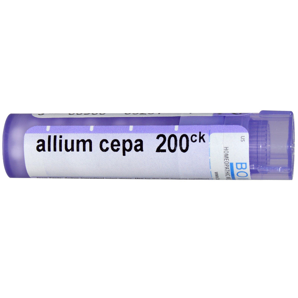 Boiron, Single Remedies, Allium Cepa, 200CK, Approx. 80 Pellets