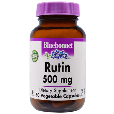 Bluebonnet Nutrition, Rutin, 500 mg, 50 Veggie Caps