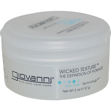 Giovanni, Wicked Texture, The Definition of Pomade, 2 oz (57 g)