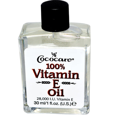 Cococare 100% Vitamin E Oil 28000 IU 1 fl oz (30 ml)